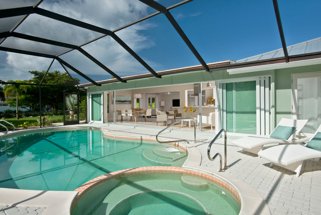 Naples Fl Pool Area Contemporary Pool Other By Tec