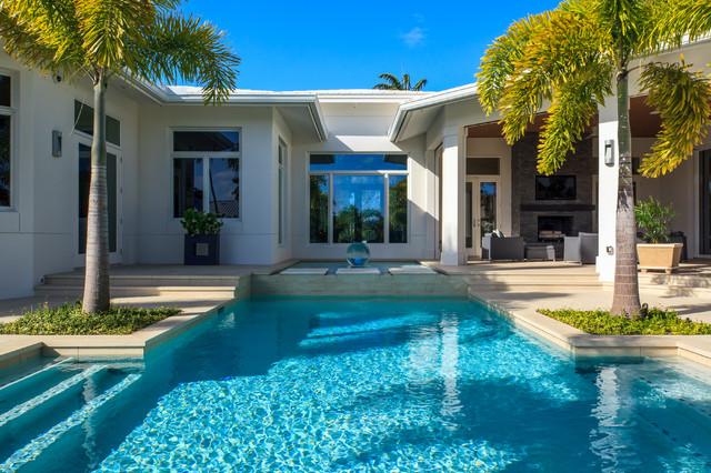 Naples Florida Modern Private Residence Contemporary