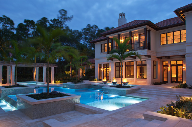 Naples florida mediterranean pool other metro by for Pool design naples fl