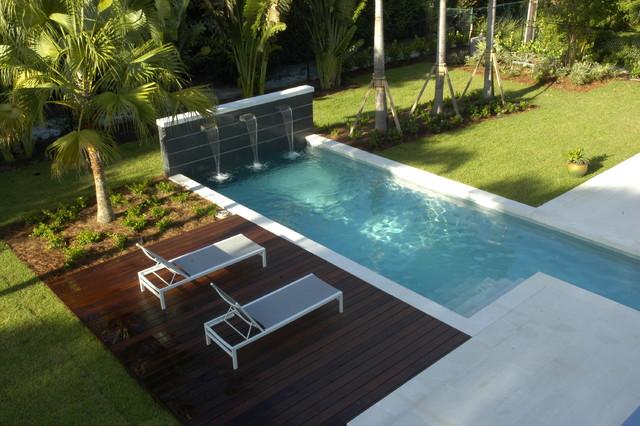 Naples Modern Modern Pool Miami By Rob Bramhall