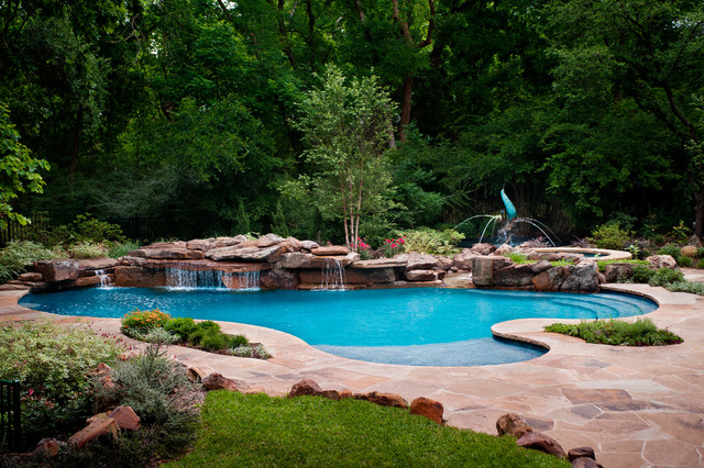 Natural Freeform eclectic-pool