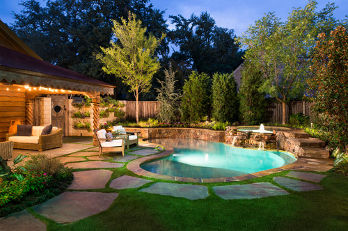 Traditional Pool by Piano Pools & Spas Pool ENvironments