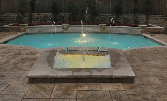 Natural Stone Pools Water Features Traditional Pool Dallas By Natural Stone Pools
