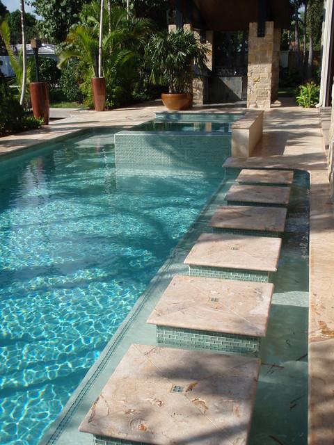 Ne 17th street ft lauderdale for Pool design fort lauderdale