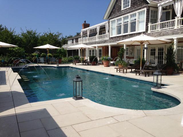 ... 2013 - Beach Style - Pool - new york - by J. Tortorella Swimming Pools