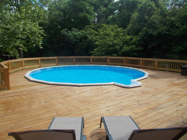 New Above Ground Doughboy Pool - Pool - Other - by Outdoor ...
