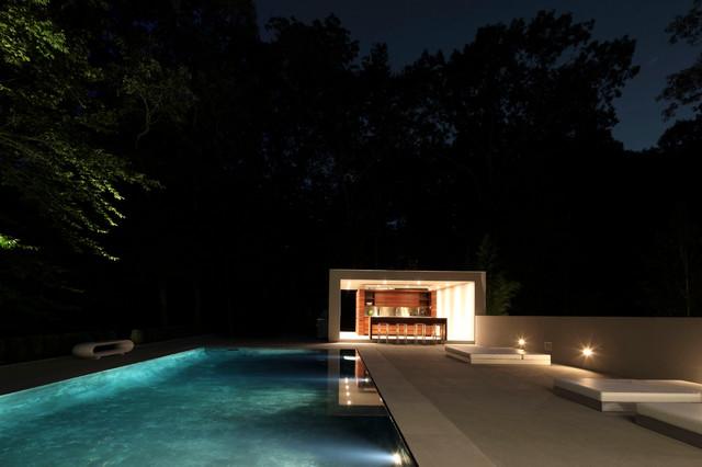 New Canaan Residence modern-pool