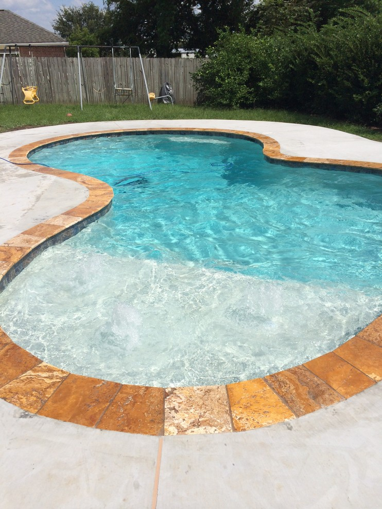 New Gunite Swimming Pool - Modern - Pool - New Orleans - by ...