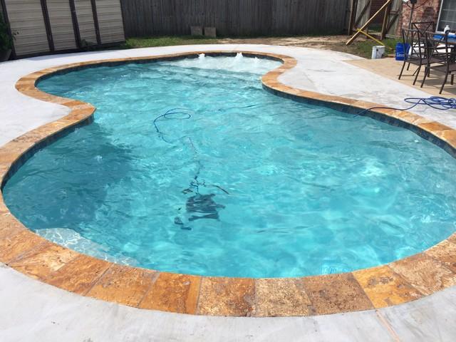 New Gunite Swimming Pool 2014 4 Modern Pool Other Metro By