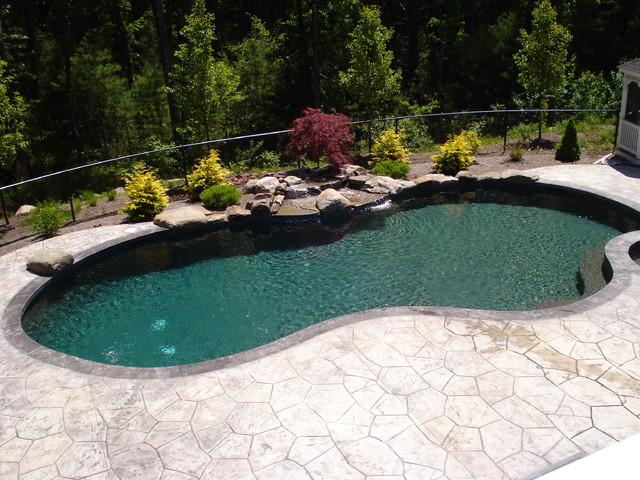 New Gunite Swimming Pools Traditional Pool