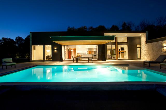 New Home- Belfast Residence modern-pool
