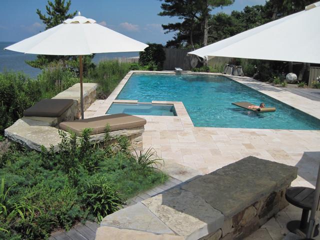 New jersey beach house landscape for Beach house landscape design