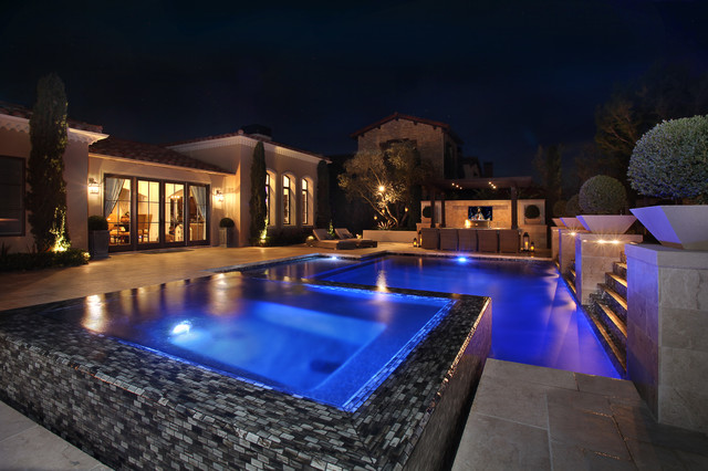 Newport Beach Residence contemporary-pool