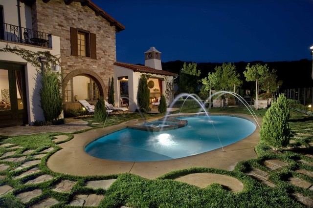 Pools & Spas mediterranean-pool