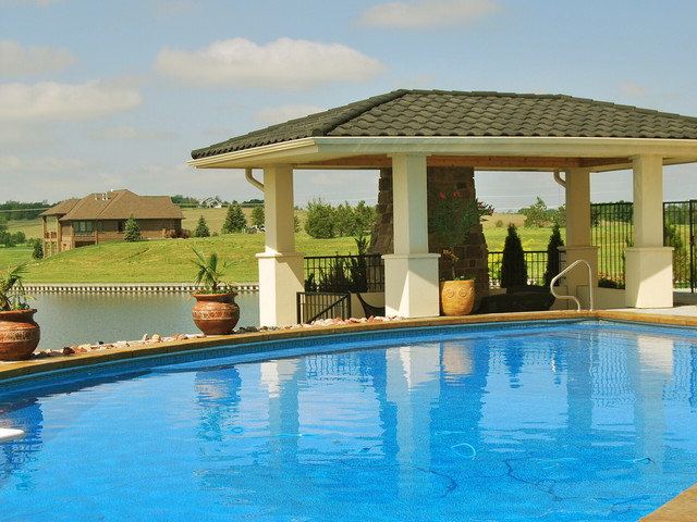 Newport landing contemporary pool omaha by for Pool design omaha