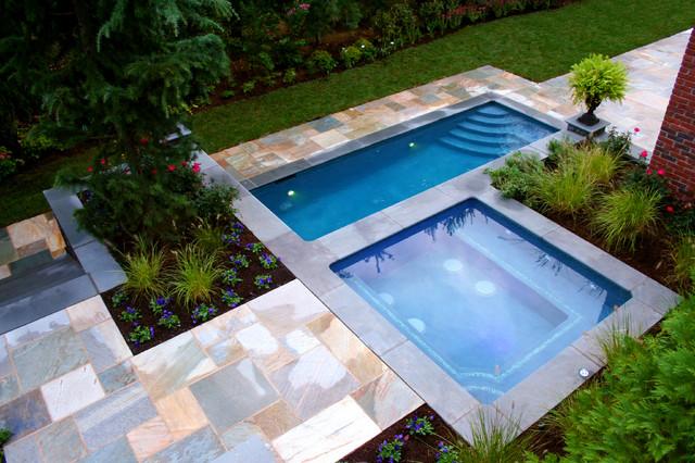 NJ Custom Swimming Pool And Spa Design Contemporary Swimming Pool
