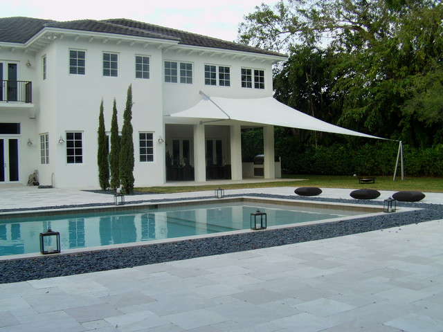 NO Equal Design Shade Sail modern pool