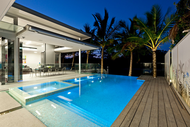 noosa sound contemporary pool other metro by 4blue. Black Bedroom Furniture Sets. Home Design Ideas
