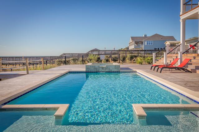 North litchfield beach house beach style pool - Public swimming pools north las vegas ...