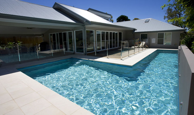 northern beaches lap pool modern pool sydney by crystal pools