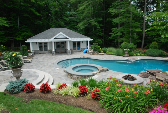 Northern Virginia Country Estate Eclectic Pool Dc