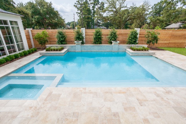 oak estates baton rouge la contemporary pool