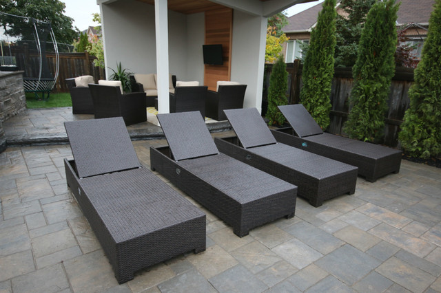 Astonishing Oakville Cabana Pool Lounge Chairs Contemporary Pool Gmtry Best Dining Table And Chair Ideas Images Gmtryco