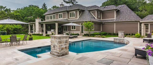 Backyard Landscaping Oakville : Oakville landscape renovation contemporary pool other by uncommon ground design