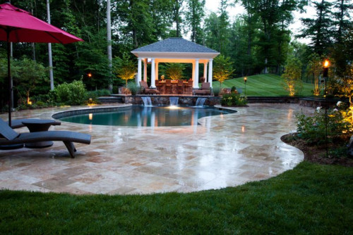 7 of the coolest landscape designs in washington dc for Pool design washington dc