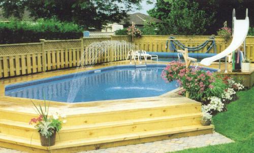 On ground pools traditional pool nashville by propools for Pool design nashville