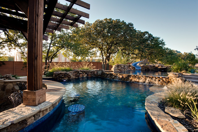 Open Water Southlake Tx Tropical Pool Dallas By