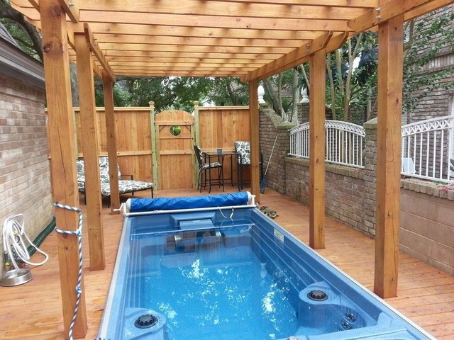 our work traditional pool houston by accent outdoors On endless pools houston