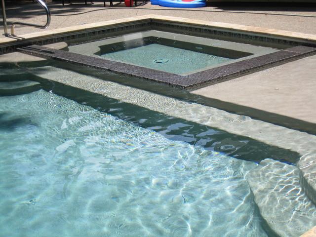 Outdoor Backyard Pool Area