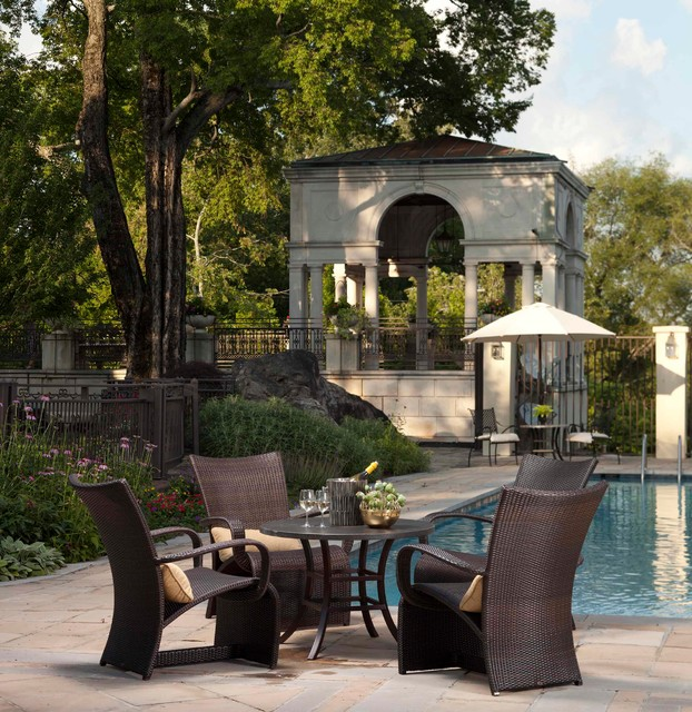 Outdoor Furniture From The Halo Collection By Summer Classics Eclectic Pool