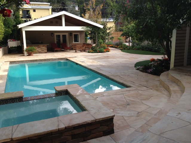 Outdoor Living contemporary-pool