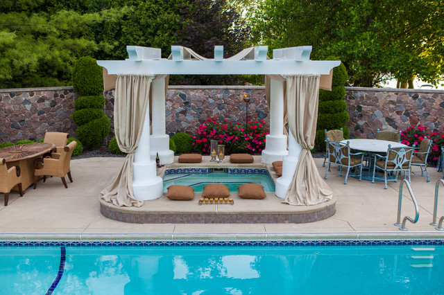 Outdoor Living traditional pool