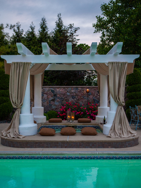 outdoor living - mediterranean - pool - other -choice designs