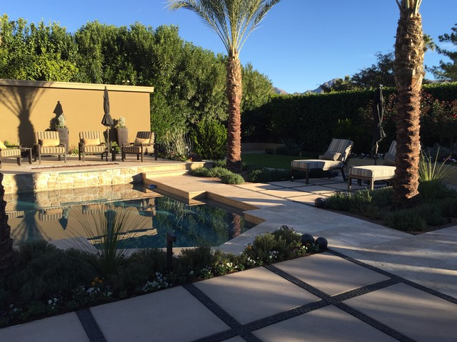 Example of a pool design in Phoenix