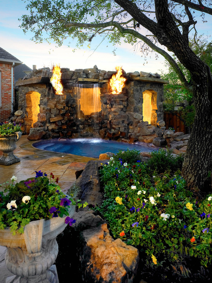 Outdoor Living - Tropical - Pool - Dallas - by Platinum ... on Platinum Outdoor Living id=47846