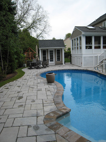 Outdoor Living - Pool traditional-pool