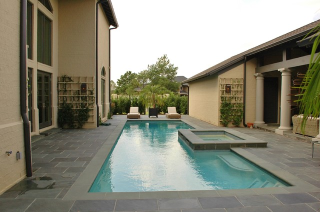 Outdoor Living Spaces - Contemporary - Pool - other metro ... on Houzz Outdoor Living Spaces id=28689