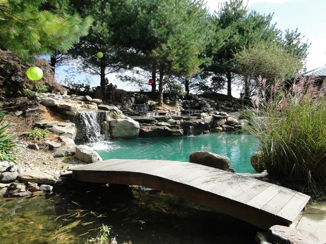 Outdoor oasis for Garden oasis pool