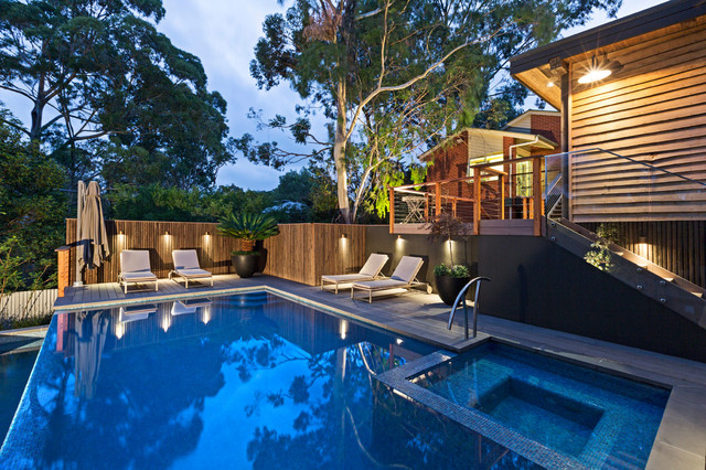 Outdoor pool and gazebo lighting audio and electrical for Pool lights melbourne