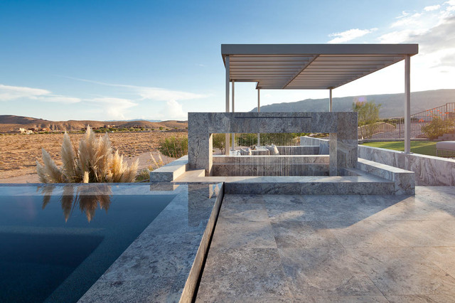 Outdoor Pool Deck Contemporary Pool Las Vegas By Kuda Photography