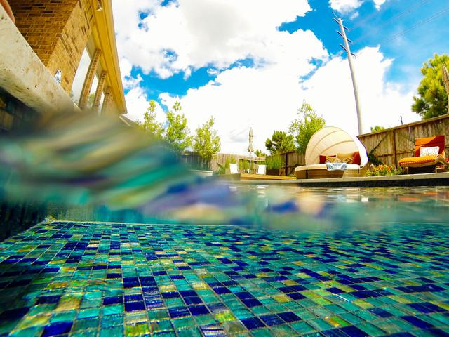 Outdoor Space Katy Tx Modern Pool Houston By Sleek To Chic Interiors Llc