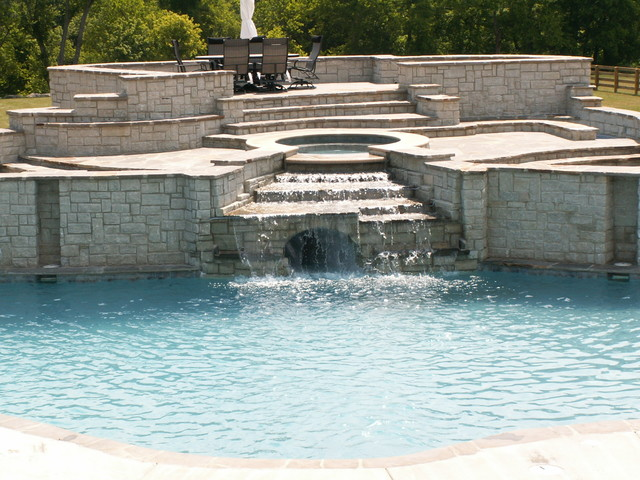 Outdoor Spaces traditional-pool
