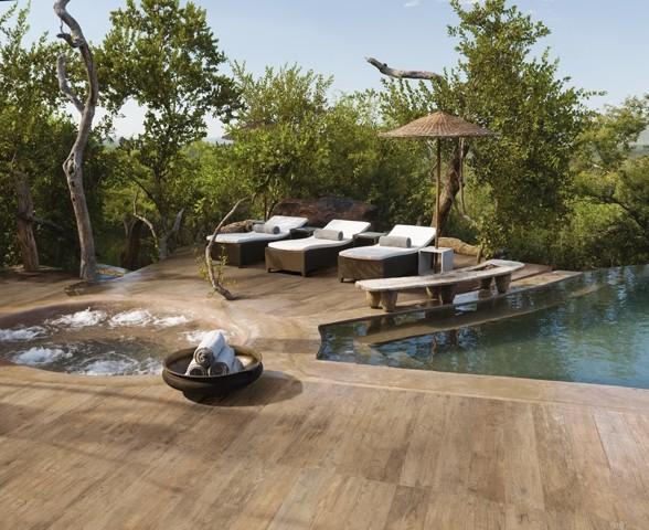 Outdoor Wood Tile beach-style-pool - Outdoor Wood Tile