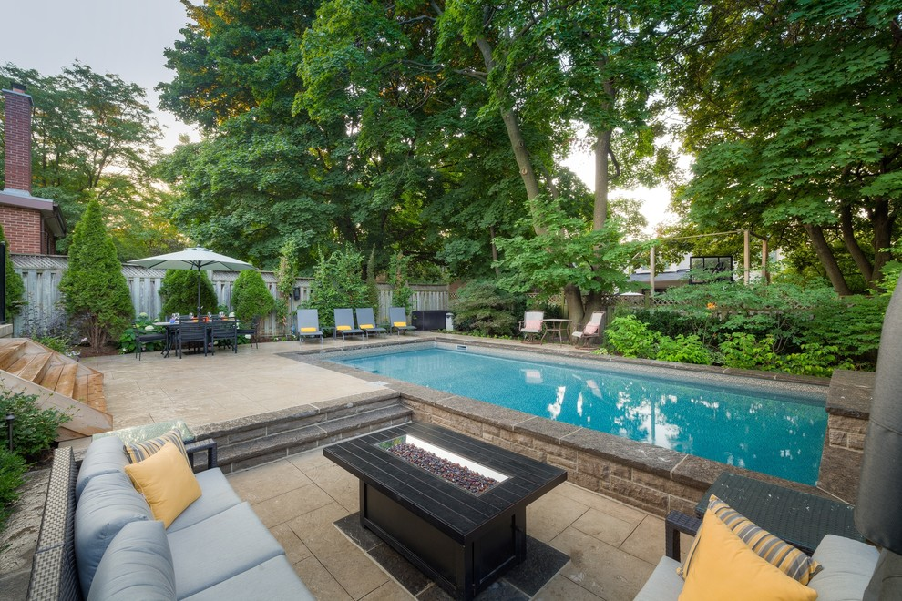 Outstanding Value in a Backyard Makeover - Contemporary ...