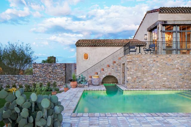 Oz Architects mediterranean-pool