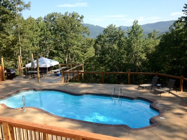 Pacific 16 x 43 beach style pool atlanta by custom for Pacific pools
